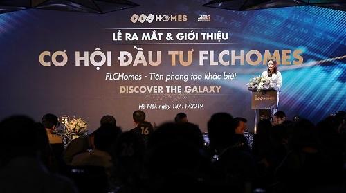 Bà Hương Trần Kiều Dung, Phó Chủ tịch, TGĐ Tập đoàn FLC kiêm Chủ tịch FLCHomes