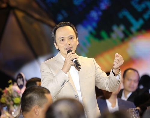 Ông Trịnh Văn Quyết, Chủ tịch HĐQT Tập đoàn FLC tại sự kiện.