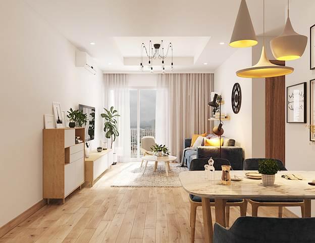Khám phá căn hộ mẫu chất từng centimet tại dự án Le Grand Jardin - 7