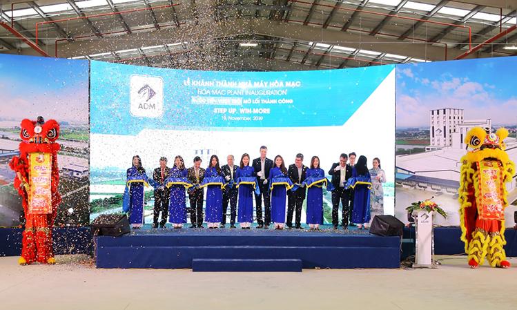 Sự kiện Khánh thành nhà máy vừa qua khẳng định một lần nữa cam kết của tập đoàn ADM trở thành đơn vị cung cấp dinh dưỡng vật nuôi chất lượng cao, phát triển bền vững cùng nông nghiệp Việt Nam