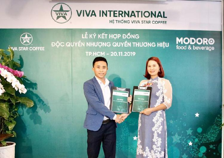 Chuỗi cà phê nhượng quyền Viva Star Coffee mở rộng mạng lưới - 1