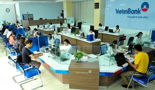 Phòng giao dịch của VietinBank. Ảnh: VietinBank.