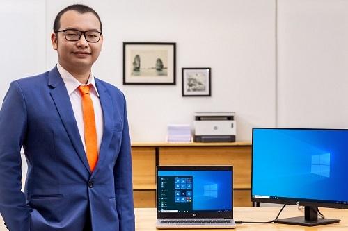 CEO Lê Đình Hiếu của học viên G.A.P.
