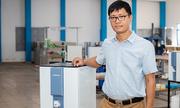 Tiến sĩ 8x chế tạo máy lọc nước 'made in Vietnam'