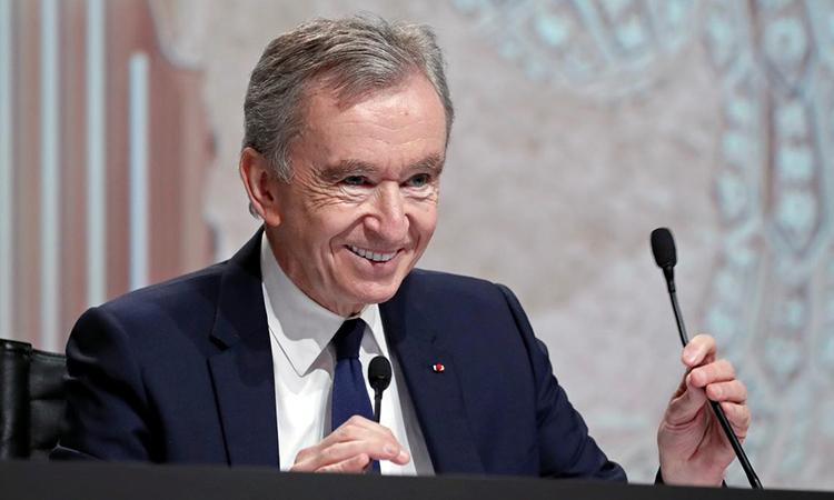 Tỷ phú Bernard Arnault. Ảnh: Reuters
