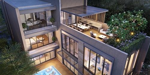 Mỗi villa là một không gian nghệ thuật đầy tính sáng tạo