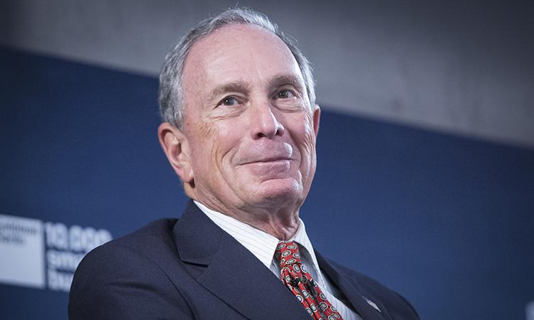 Tỷ phú Michael Bloomberg. Ảnh: Bloomberg
