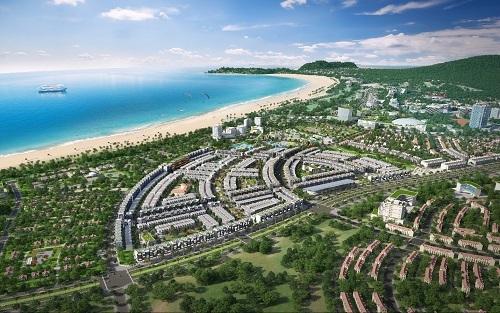Nhơn Hội New City sở hữu vị trí đắc địa, mặt tiềnquốc lộ 19B và biển Quy Nhơn.