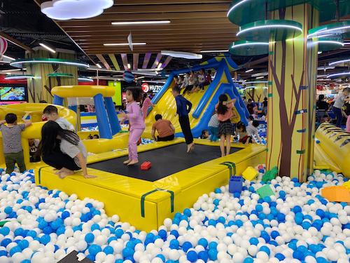 Việt Nam là thị trường màu mỡ cho các doanh nghiệp cung cấp dịch vụ vui chơi thiếu nhi. Ảnh