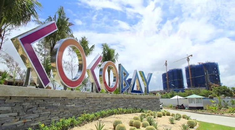 Lối vào dự án Cocobay Đà Nẵng. Ảnh:Empire Group