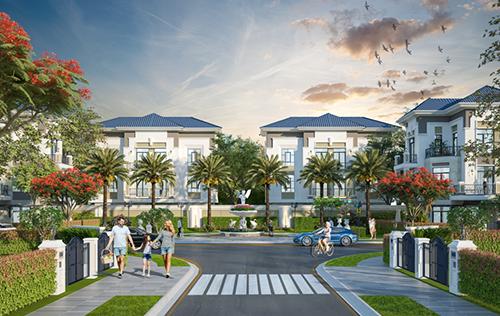 Verosa Park được thiết kế theo phong cáchkiến trúc tân cổ điển.