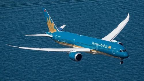 Máy bay Boeing 787 Dreamliner của Vietnam Airlines.