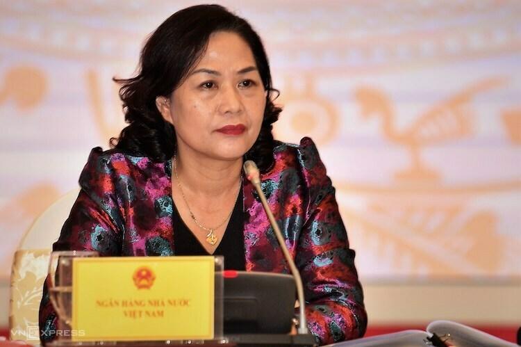 Bà Nguyễn Thị Hồng - Phó thống đốc Ngân hàng Nhà nước. Ảnh: Phúc Quang