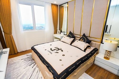 Các căn hộ bài trí theo phong cách hiện đại với tầm nhìn rộng mở.