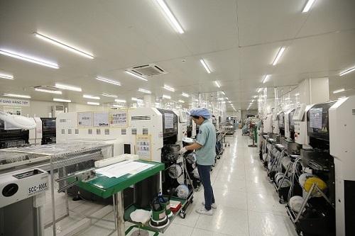 Nhàmáy của công ty Manutronics Việt Nam.