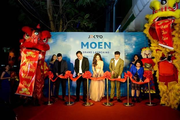 Showroom Moen tại 22A Cát Linh chính thức khai trương.
