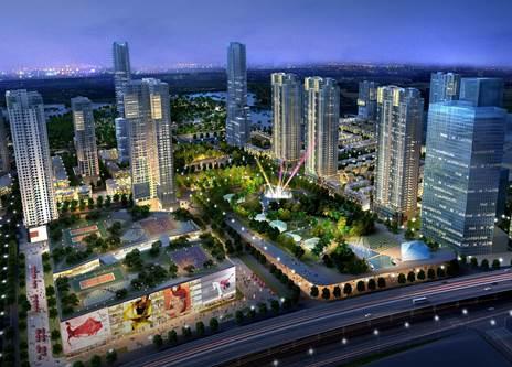The Manor Central Park dự án thấp tầng tâm điểm tại phía Tây Hà Nội.