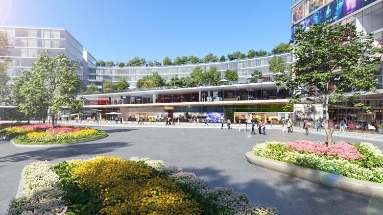 Cư dân có thể tận hưởng chuỗi tiện ích nội khu dự án Manhattan Island và hệ thống tiện ích quy mô lớn của đô thị xanh ven sông King Bay.