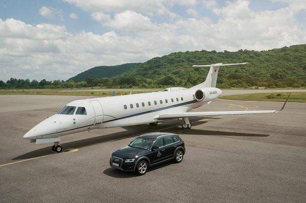 Chuyên cơ phục vụ bay đến Côn Đảo.