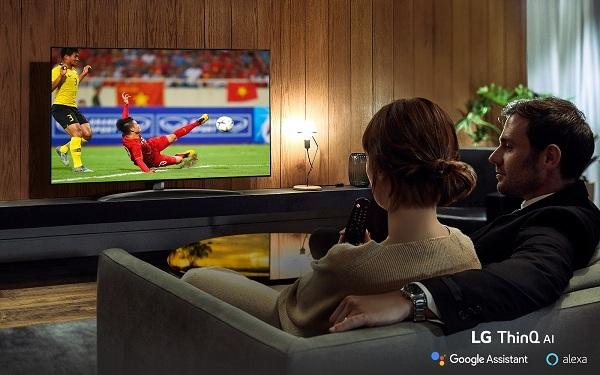 TV LED của LG sử dụng tấm nền IPS cho góc nhìn siêu rộng.