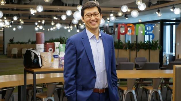 Bom Kim là nhà sáng lập kiêm CEO Coupang. Ảnh: CNBC