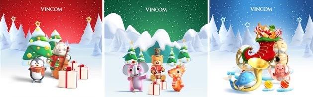 Những tấm thiệp popup mang lại trải nghiệm AR khác biệt là món quà ý nghĩa Vincom dành tặng khách hàng