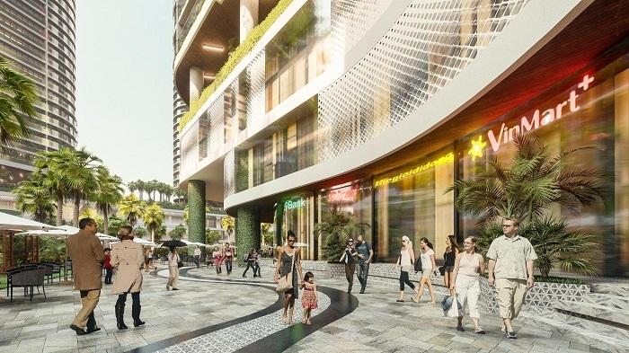 Bên cạnh phố ẩm thực và giải trí, Sunshine Diamond River được đầu tư phố thời trang đến hàng chục cửa hàng. Chủ đầu tư còn bố trí khu vực dành riêng cho các cửa hàng thời trang thiết kế Việt.