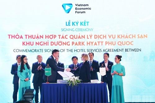 Lễ ký kết nằm trong khuôn khổ Diễn đàn cấp cao Du lịch Việt Nam 2019.