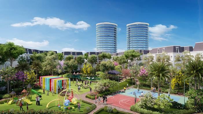 Seoul Ecohomes LG Tràng Duệ chính thức ra mắt tiểu khu Thịnh Vượng Phú QuýSeoul Eco Homes LG Tràng Duệ ~ một trong những khu đô thị đẳng cấp bậc nhất Hải Phòng trong giai đoạn 2019-2020 đã có sổ đỏ đến từng thương phẩm, dự án đã gần như hoàn thiện 100% hạ tầng cây xanh và đường giao thông nội khu chuẩn bị các hạng mục để kết nối trực tiếp ra tuyến quốc lộ 10 vào trung tâm thành phố Hải Phòng. Đặc biệt hơn, ngay tại trung tâm dự án có 2 tuyến đường xuyên tâm rộng 50m ~ sẽ giúp cho việc di chuyển vào Trung tâm Hải Phòng trong thời gian tới chỉ chưa đầy 10 phút.Là một dự án do Công ty Cổ phần Khu công nghiệp Sài Gòn Hải Phòng làm chủ đầu tư xây dựng và phát triển; đây cũng chỉnh là chủ đầu tư phát triển khu công nghiệp Tràng Duệ với tổng diện tích mở rộng các giai đoạn lên đến hơn 600ha tại Huyện An Dương, Thành Phố Hải Phòng; Seoul Eco Homes được chủ đầu tư đặc biệt chú trọng đến phát triển một khu đô thị xanh với tiêu chuẩn eco theo tiêu chuẩn All in One đầy đủ về hạ tầng, giao thông và tiện ích đồng bộ phục vụ cho những khách hàng khó tính nhất.Ảnh: tổng thể dự án mặt tiền quốc lộ 10 và trục đường 50m kết nối khu tổ hợp LG vào Trung tâm Hải PhòngSeoul Eco Homes với quy mô 42ha tổng thương phẩm lên đến hơn 700 lô được chia theo 4 tiểu khu đẳng cấp, được Bộ xây dựng quyết định chuyển quyền sử dụng đất đến từng thương phẩm theo công văn số 148/BXD PTDT ngày 28/11/2019 và công văn số 4080/XSD PTDT của Sở Xây dựng Hải Phòng về việc đủ điều kiện được bán cho thuê mua nhà ở hình thành trong tương lại ngày 20/09/2019. Là dự án với pháp lý cũng như hạ tầng được hoàn thiện 100% về hạ tầng điện đường giao thông với vị trí đặc biệt chiến lược nằm tại mặt đường trung tâm Quốc Lộ 10 nối trung tâm Hải Phòng đối diện khu công nghiệp Tràng Duệ và Tổ hợp công nghệ cao LG với tổng số vốn đầu tư lên đến gần 5 tỷ USD đang triển khai mở rộng với hệ thống các nhà máy công nghệ phụ trợ và các tổ hợp phát triển của LG như: LG Display, LG Electronic, LG Innotek; Seoul Eco Homes không chỉ thể