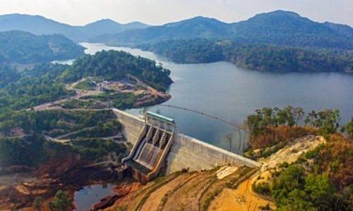 Thủy điện Nậm Kông 2 tại tỉnh Attapeu, Lào. Ảnh: CS Energy.