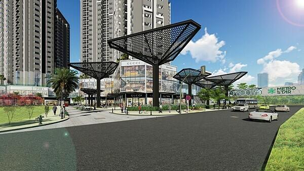 Phối cảnh thiết kế hiện đại của Metro Star.