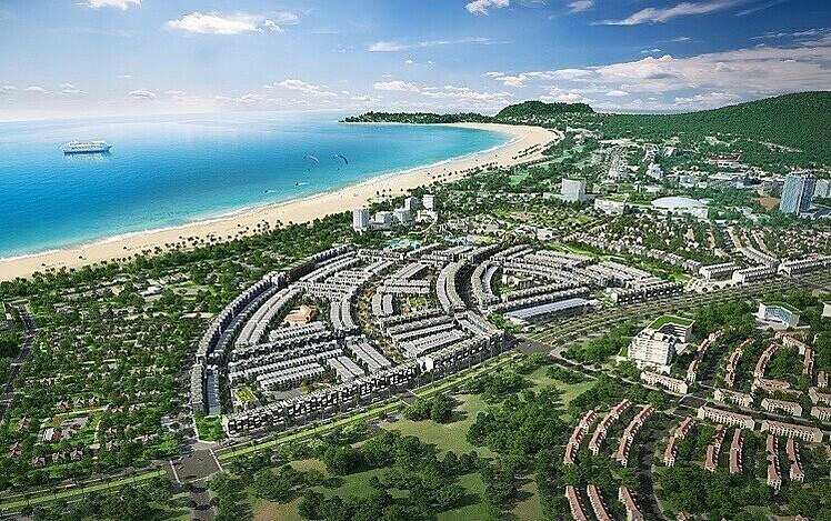 Dải đất ven biển miền Trung thu hút nhiều dự án bất động sản,