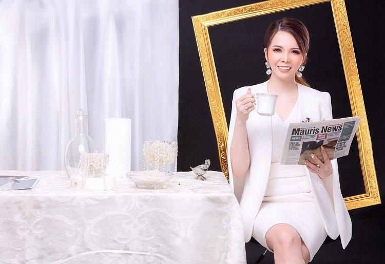 Nữ giám đốc trẻ Lê Kim Tho.