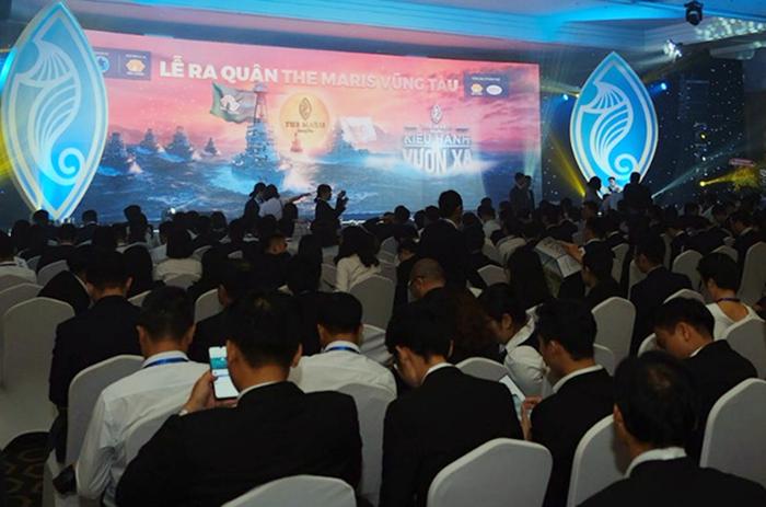 Lễ ra quân mở bán một dự án tại Bà Rịa - Vũng Tàu.