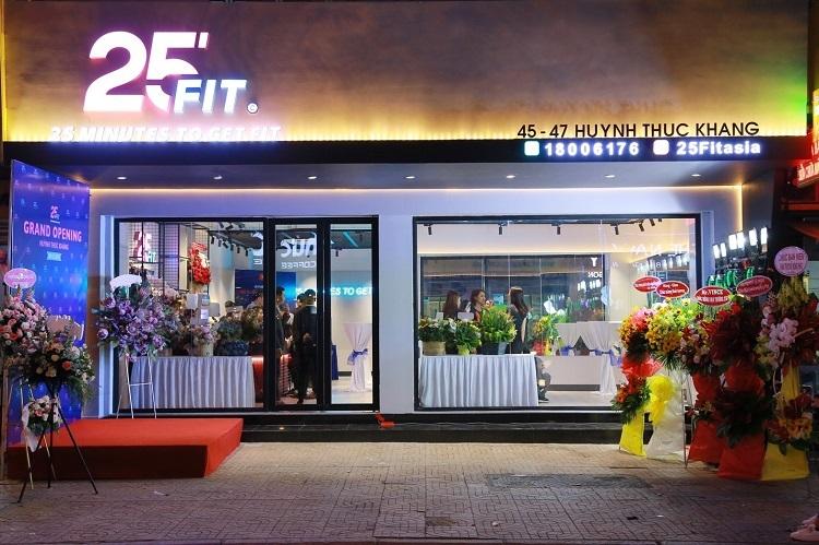 25 FIT khai trương chi nhánh tại đường Huỳnh Thúc Kháng, quận 1, TP HCM.