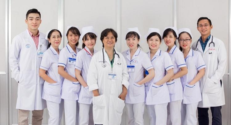 Đội ngũ y bác sĩ giàu kinh nghiệm của Bệnh viện Đa khoa Bưu điện.