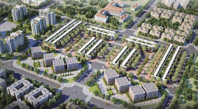 Phối cảnh dự án An Phu New City.