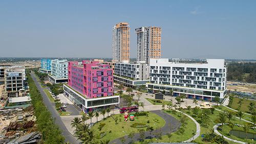 Cocobay Đà Nẵng - dự án condotel vừa xảy ra vỡ trận do cam kết lợi nhuận. Ảnh: Empire Group