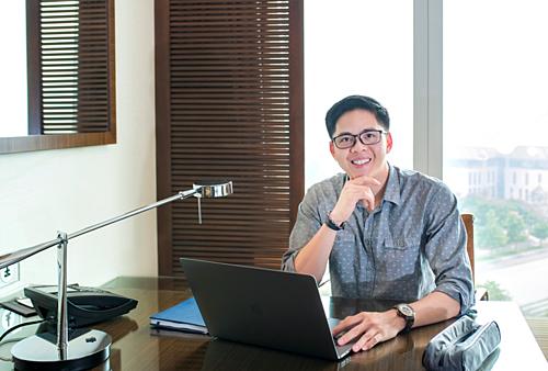 Nhà sáng lập, kiêm CEO và CTO củaNow Vitals và Earable.Ảnh: M.T