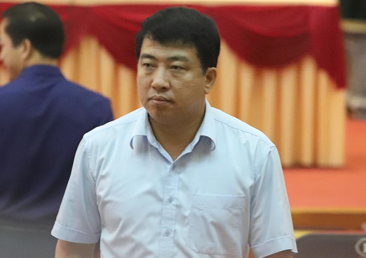 Ông Trần Tú Anh, Giám đốc Sở Kế hoạch và Đầu tư Hà Tĩnh. Ảnh: Đức Hùng
