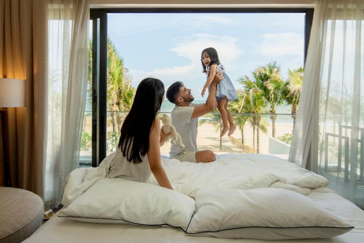 Những khu nghỉ dưỡng hiện đại, gần gũi thiên nhiên, thiết kế vừa sang trọng vừa ấm cúng phù hợp nhu cầu nghỉ dưỡng của gia đình đa thế hệ.