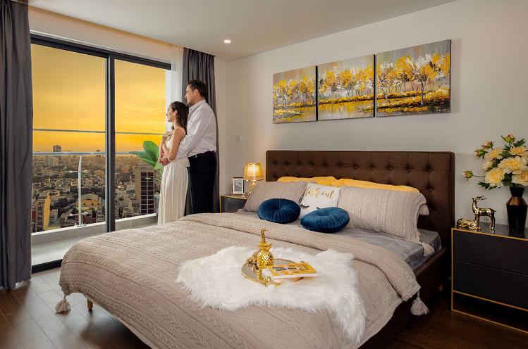 Căn hộ Premier Sky Residences được chú trọng trong từng góc nhỏ, từng chi tiết đều được chủ đầu tư chăm chút từ khâu thiết kế và lựa chọn chất liệu, màu sắc để tạo nên sự cân bằng phong thủy, giúp đón lộc, đẩy hung, mang đến cảm giác bình yên và thư thái cho gia chủ.