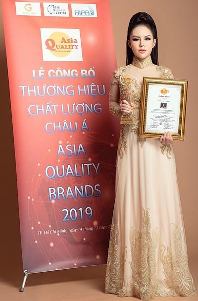 CEO Cao Thiên Nhi cho biết danh hiệu Thương hiệu chất lượng châu Á năm 2019 là sự công nhận trước những nỗ lực của doanh nghiệp