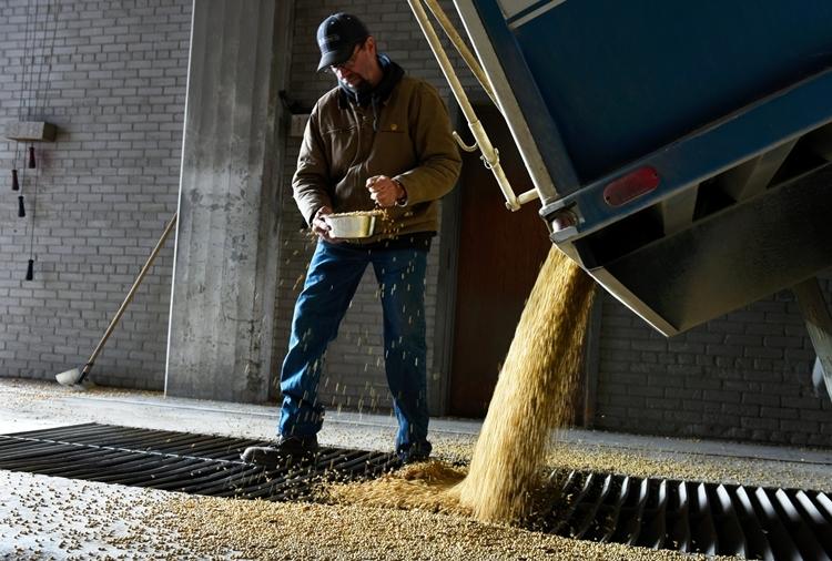 Công nhân trong một cơ sở sản xuất nông sản tại Mỹ. Ảnh: NYT