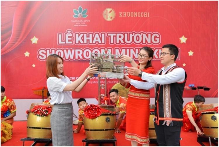 Khai trương showroom Sâm Ngọc  Linh Kon Tum tại TPHCM