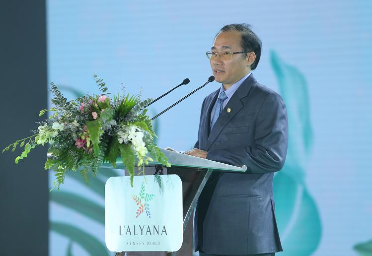 Ông Phùng Chu Cường, tổng giám đốc chia sẻ đầy tâm huyết về dự án.