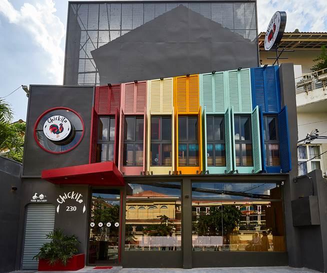 Nhà hàng Gà Nướng Lửa - Chickita đầu tiên có mặt tại số 230, đường Nguyễn Văn Hưởng, phường Thảo Điền, quận 2.