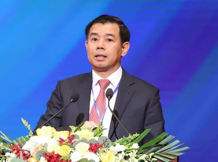 Ông Nguyễn Việt Quang - Tổng giám đốc Vingroup. Ảnh: Ngọc Thắng