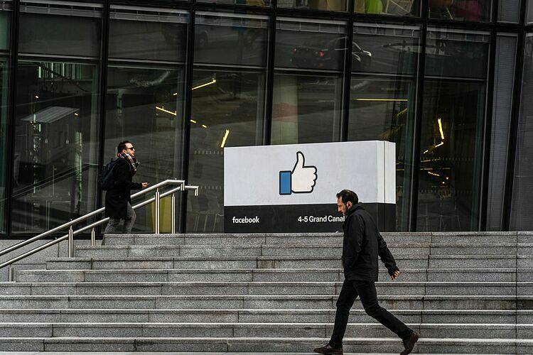 Trụ sở khu vựcchâu Âu của Facebook tại Dublin (Ireland). Ảnh: Bloomberg