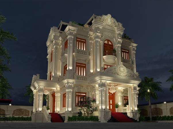 Kiến trúc tân cổ điển cho thiết kế biệt thự được nhiều gia chủ yêu thích